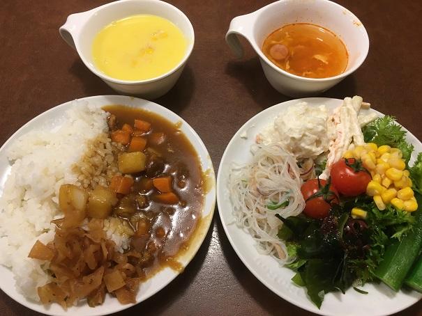ビッグボーイ-カレーサラダスープ