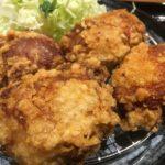 とり弁鶏-唐揚げ定食唐揚げアップ
