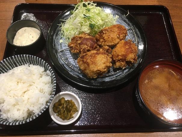とり弁鶏-唐揚げタルタル定食