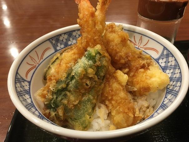 らら亭-海老天丼2
