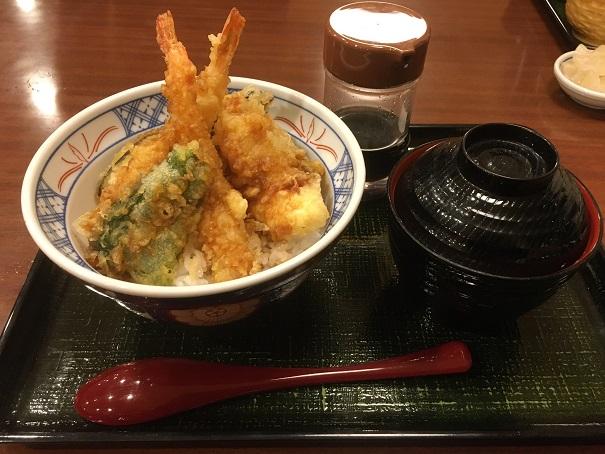 らら亭-海老天丼1