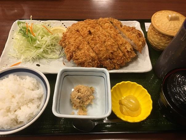 らら亭-チキンかつ定食
