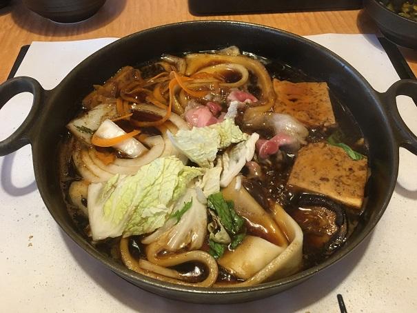 どん亭-すきやき(熟成牛ロース定食)