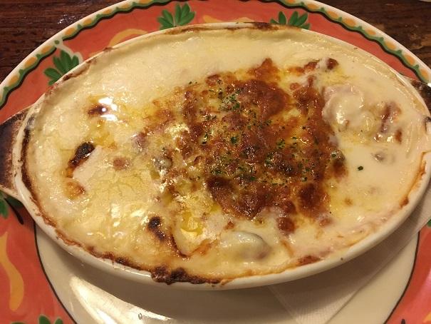ナポリの食卓-グラタン風ベーコンチーズ焼