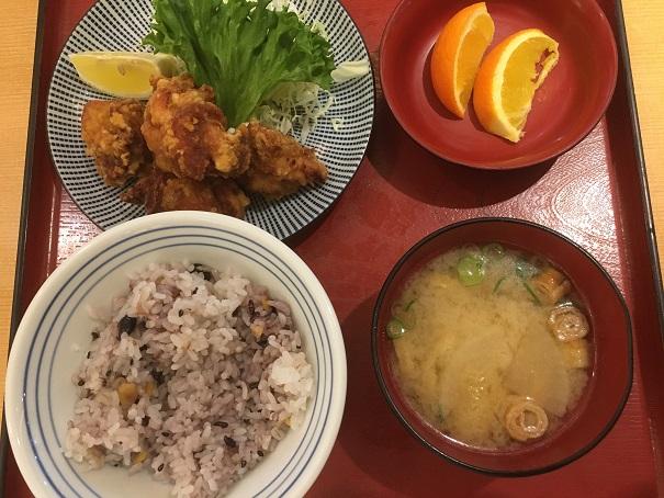 さち福や-鶏のこんがり黄金唐揚定食