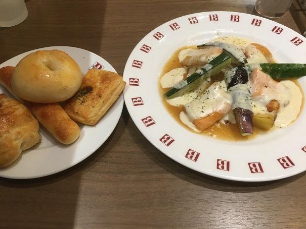 バケット-料理とパン