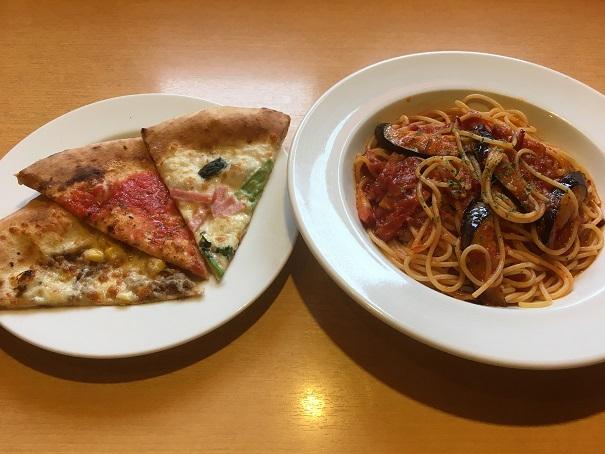 モダンパスタ-ピザとパスタ