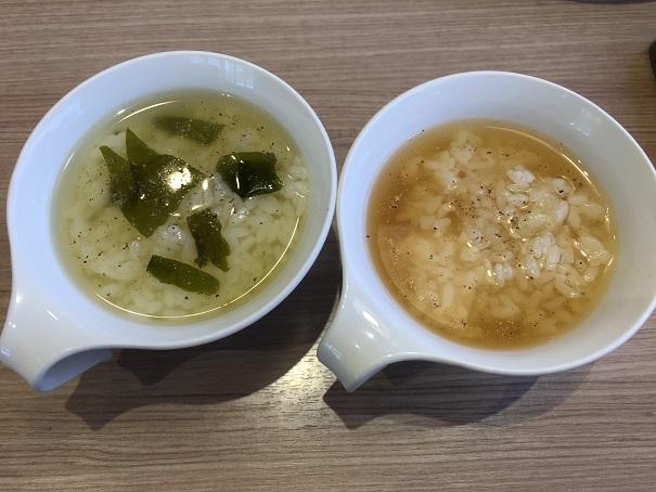 ステーキのどん-スープ2種(ライスイン)