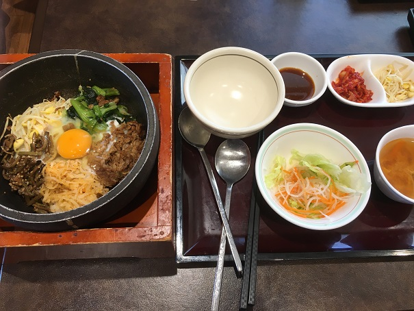 宝島-石焼き風ビビンバランチ