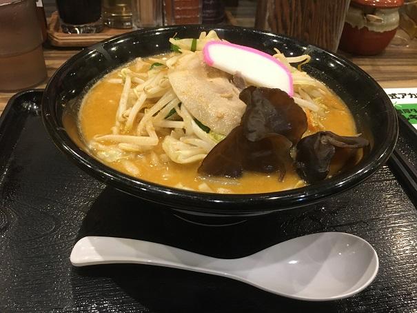 マルキン商店-濃厚味噌タンメン