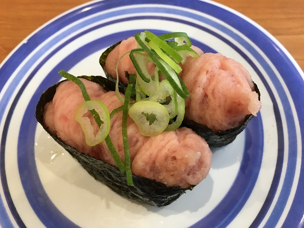 くら寿司-ねぎまぐろぐんかん