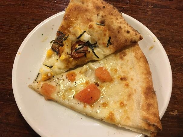 ナポリの食卓-ピザ2種
