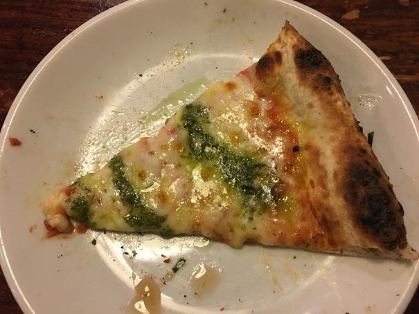 ナポリの食卓-ピザ(イタリアンバジル)
