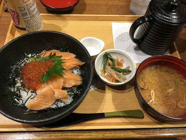 ココス-2度美味しい!いくら&サーモン丼