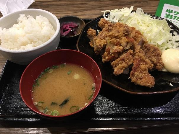 マルキン商店-マルチキ定食